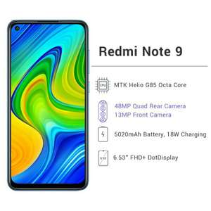 Смартфон Xiaomi Redmi Note 9 4+128ГБ NFC (глобальная версия)