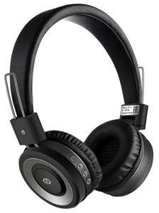 Гарнитура DIGMA BT-11, Bluetooth, накладные, черные [l100bt]