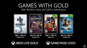 Бесплатные игры марта для подписчиков Xbox Live Gold