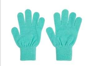 Перчатки вязаные для девочек Demix (размер 5-6)