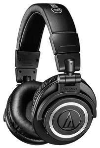 Беспроводные наушники Audio-Technica ATH-M50xBT, black