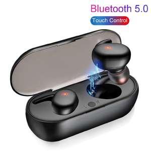 TWS наушники с Bluetooth 5.0 (магазин без рейтинга и отзывов)