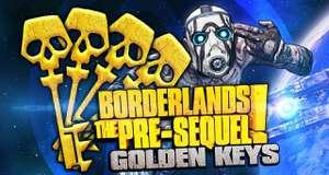 [PC, PS4, XB1, Switch] 10 золотых ключей для Borderlands: The Pre-Sequel