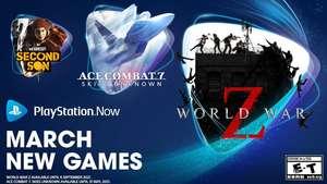 InFamous: Second Son, Ace Combat 7 и другие игры пополнят каталог подписки PlayStation Now со 2 марта
