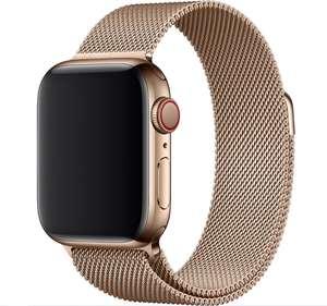 Ремешок Apple 40mm/44mm Gold Milanese Loop