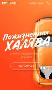 Бесплатная замена масла и фильтров в Fit service за наклейку на авто
