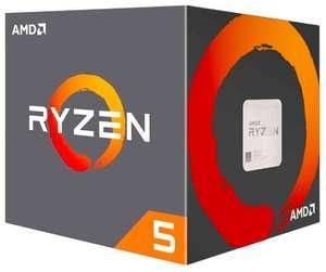 Процессор AMD Ryzen 5 2600, BOX + 1223 бонуса на счет