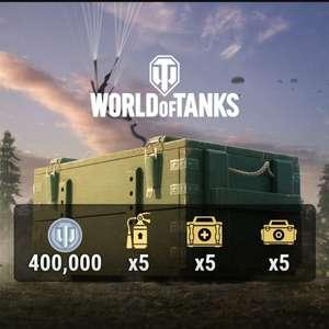 [PS4] World of Tanks — Поставка припасов бесплатно для владельцев PS Plus