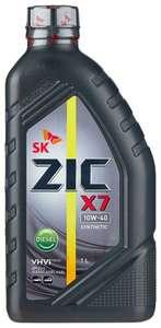 Полусинтетическое моторное масло ZIC X7 DIESEL 10W-40 1.0 литр
