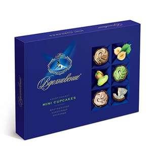 Конфеты в коробке Вдохновение Mini Cupcakes, 165 гр. за 1₽ при заказе от 1000₽