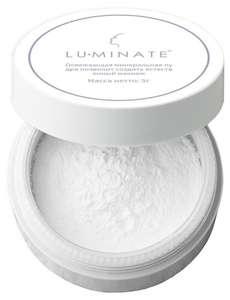 Минеральная рассыпчатая пудра для лица освежающая белый LU Minate