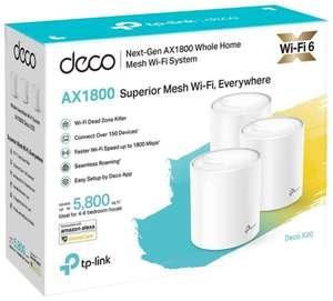 Wi-Fi Mesh система TP-LINK Deco X20 (3-pack) (WIFI 6, 1 Гбит/с, WPA3) + 934 баллов Я+