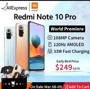 Смартфон Xiaomi Redmi Note 10 Pro 6/64