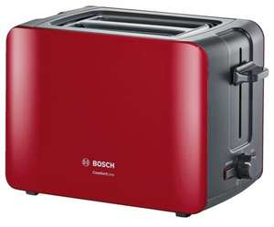 Тостер Bosch TAT6A114, красный