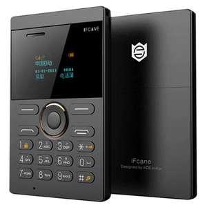 Телефон размером с кредитку iFcane E1 за $8.9