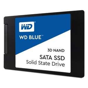 """SSD диск Western Digital Blue 2.5"""" 500Gb SATA III TLC 3D"""
