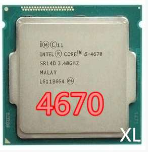 Процессор Intel Core i5 4670, 3,4 ГГц, 6 Мб, разъем LGA 1150