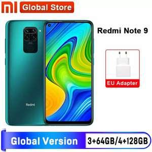 Смартфон Xiaomi Redmi Note 9 64/128Gb, noNFC/NFC
