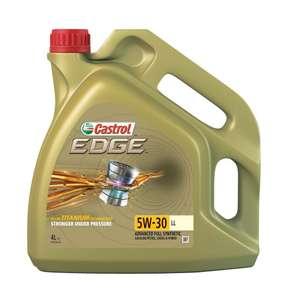 Моторное масло Castrol EDGE LL 5W-30 Синтетическое 4 л
