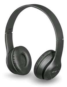 Беспроводные наушники с микрофоном Defender FreeMotion, microSD, черные