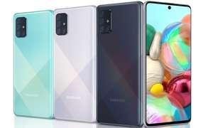 Смартфон Samsung A715 Galaxy A71 6/128Gb Black (+ возврат 3200)