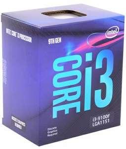 Процессор Intel Core i3 9100F BX80684I39100F S RF6N