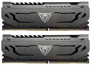 Оперативная память Patriot Memory VIPER STEEL DDR4 3000 16Gb (8Gb x2) PVS416G300C6K