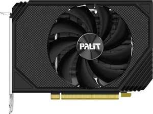 Видеокарта PALIT NVIDIA GeForce RTX 3060 , PA-RTX3060 STORMX OC 12G, 12ГБ, GDDR6, OC, Ret
