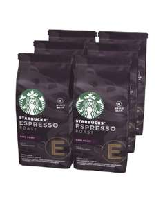 Кофе в зернах Starbucks Dark Espresso Roast, 24 уп., 200 г