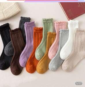 Носки с рюшечками