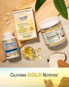 Скидка 20% на пищевые добавки California Gold Nutrition, напр, CollagenUP