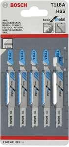 Набор пилок для электролобзика BOSCH 2608631013 5 шт. + другие варианты в описании