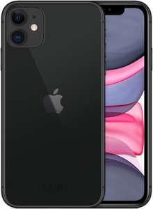 Смартфон Apple iPhone 11 128GB, черный/красный