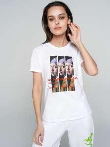 Скидки на бренд ТВОЕ, например, футболка женская