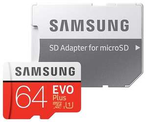 Карта памяти Samsung MB-MC64HA microSDXC