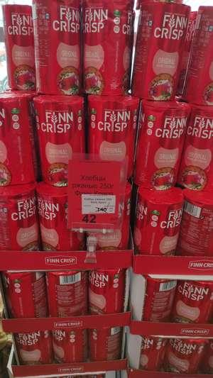 [Уфа] Хлебцы ржаные Finn Crisp 250 г