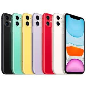 Смартфон Apple iPhone 11 (новая комплектация) 64Gb, 128gb - 47500₽ (трейд-ин)