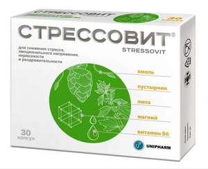 Стрессовит капсулы 654 мг 30 шт