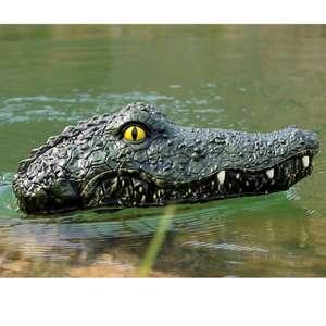 Голова крокодила на радиоуправлении