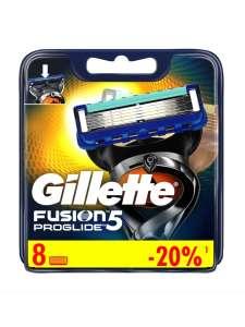 Сменные кассеты для бритвы GILLETTE Fusion ProGlide, 8 Шт.