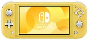 Игровая приставка Nintendo Switch Lite только желтый цвет 32 Гб