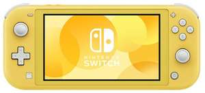 Игровая приставка Nintendo Switch Lite 32 ГБ, yellow