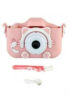 Детский фотоаппарат розовый (синий в описании)