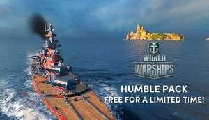 Бесплатный ПАК не игра WORLD OF WARSHIPS HUMBLE PACK0 рублей 100%)