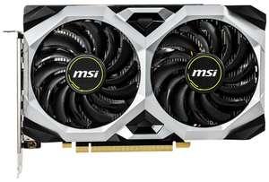 [Не везде] Видеокарта MSI GeForce GTX 1660 Ventus XS 6G OC, Retail