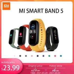 Xiaomi Mi Band 5 (глобальная версия)