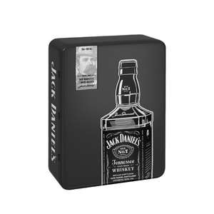 [МО] Виски JACK DANIEL'S Tennessee Whiskey зерновой, 40%, п/у с 2 стаканами, 0.7л, США, 0.7 L