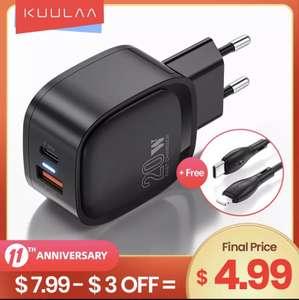 Устройство для быстрой зарядки Kuulaa 20w
