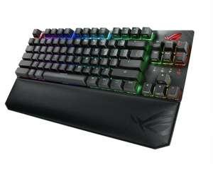 Игровая клавиатура ASUS ROG Strix Scope TKL Deluxe Black USB