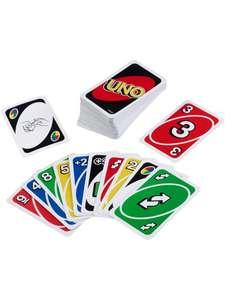 Игра настольная карточная UNO Mattel Games Uno 112 карт в дисплее